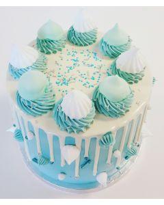 Sweet 'n Blue Dripcake