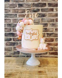 Unicorn Ballon taart
